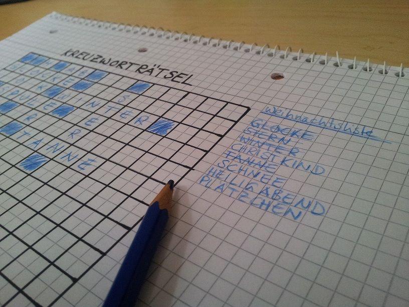 Kreuzworträtsel Selber Machen Wortspiele Wort Suchen De