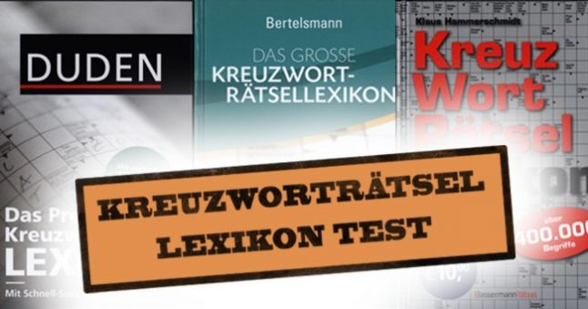 Kreuzworträtsel Lösungen Drei Kreuzworträtsel Löser Lexika Im Test