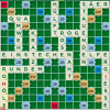 Scrabble-App Spielsituation