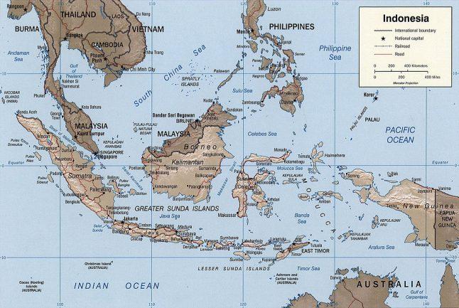 Lage der Sundainseln Kreuzworträtsel