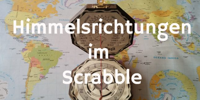Nord Ost Sued West Himmelsrichtungen Scrabble