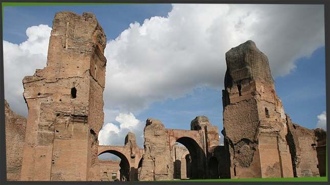 caracalla thermen rom