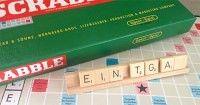 der ersten deutschen Scrabbleausgabe nachempfundene Version